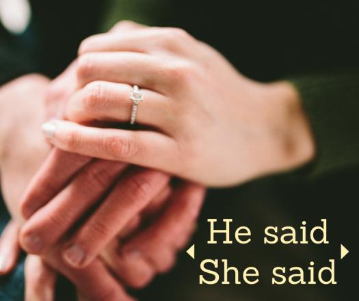He said - she said
